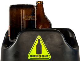 Growler on Board BTU – Black