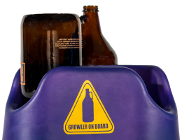 Growler on Board BTU – Purple & Gold