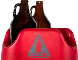 Growler on Board BTU – Crimson & Gray