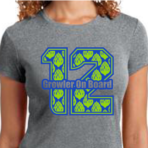 Women's Hopped 12th Fan (T-Shirt)